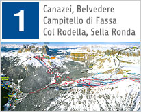 Fassa Valley Maps