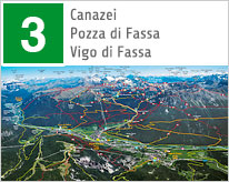 Sommer Karten Val di Fassa