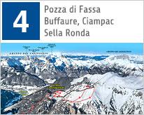 Winter Val di Fassa maps
